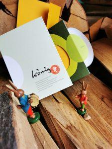 Das Team von König Konzept wünscht Ihnen von Herzen Frohe Ostern! Foto: leopoldi-art